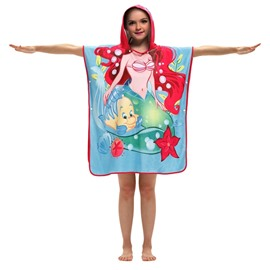 Breathable and Soft Kids Hooded Bath Towel