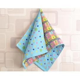 Bright Color Spots Print Bathroom & Gym Towel