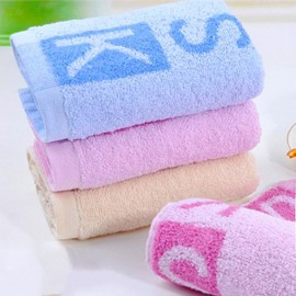 Wonderful Fashion Alphabet Design 100% Cotton Towel