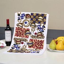 Wonderful Brisk Coffee Cups Printing Face & Hand Towel