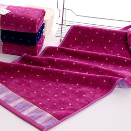 Noble Dots Printing 100% Cotton Face Towel