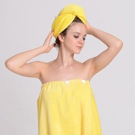 Summer Sexy Boob Tube Top Women's Bathrobe