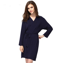 Luxury Super Soft Modal Fashion Women' s Bathrobe