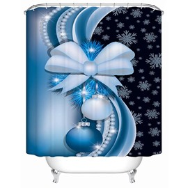 Fabulous Unique Design Elaborate Decor Christmas Baubles 3D Shower Curtain