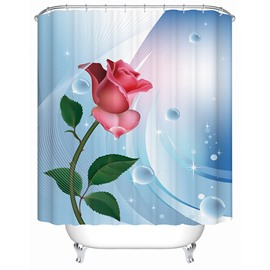 Rose 3D Shower Curtain