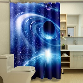 High Class Glorious Universe Scene Image 3D Shower Curtain