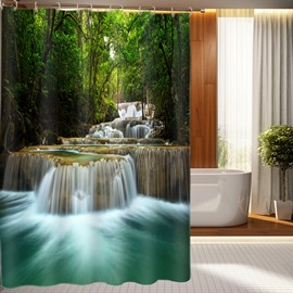 Stylish Design Fabulous Waterfall 3D Shower Curtain