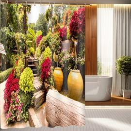 Special Design Excellent Natural Beauty 3D Shower Curtain