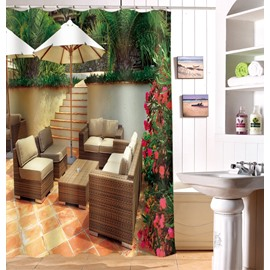 Modern Design Cozy Chair 3D Shower Curtain