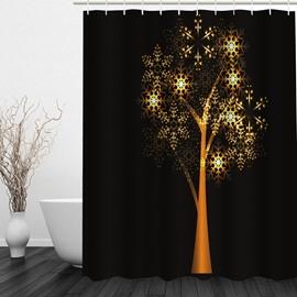 Magic Tree Printing 3D Bathroom Waterproof Shower Curtain