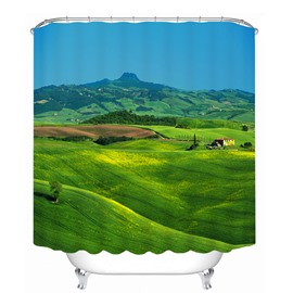 Wonderful Vast Prairie 3D Printed Bathroom Waterproof Shower Curtain