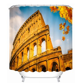 Wonderful Roman Colosseum 3D Printed Bathroom Waterproof Shower Curtain
