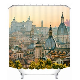 Beautiful Florence at Dusk 3D Printed Bathroom Waterproof Shower Curtain