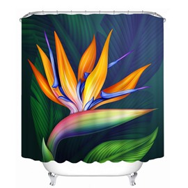 Abstract Art Lotus 3D Printed Bathroom Waterproof Shower Curtain