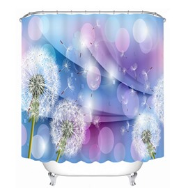 Designer Dandelion 3D Printed Bathroom Waterproof Shower Curtain