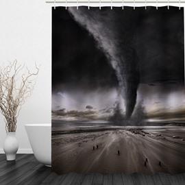 Amazing Tornado 3D Printed Bathroom Waterproof Shower Curtain