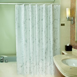 Luxurious Unique Flower Print Thicken Shower Curtain