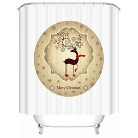 Pretty Concise Dreamlike Brisk Deer Shower Curtain
