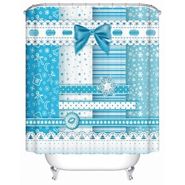 Creative Unique Design Partysu Snow Shower Curtain