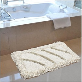 High Quality Solid Color  Contemporary Bath Rug