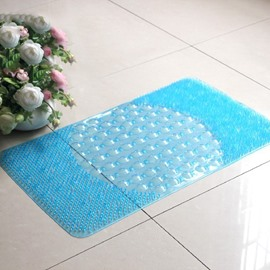 Wonderful Pure Color Massage Skidproof Bath Rug