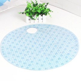 Practical  High Quality PVC Round Bath Rug