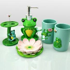 High Quality Fancy Frog Shape Bathroom Accessories