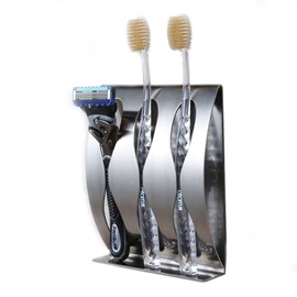 Wall Mounted Durable Stainless Steel Toothbrush Holder
