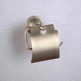 Toilet Paper Rack Brass Venetian Bronze