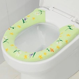 Jacquard Buckle General U Shaped  Toilet Seat Covers