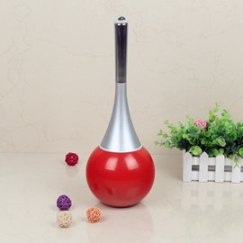 Cute Design Red Toilet Brush Holder Set