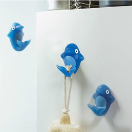 New Arrival Cute Cartoon Dolphin Design  Bathroom Hook