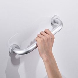 Extra-Thick Space Aluminum Anti-Slip Safe Bathroom Hooks