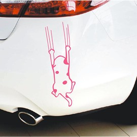 Cute And Funny Cat Claw Creative Car Sticker