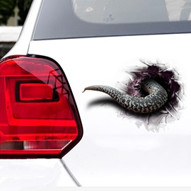 Special Originality 3D Snake Tail  Car Stickers