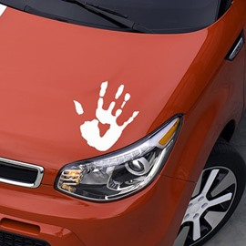 Horror Blood Fingerprint Pattern Cool Car Sticker