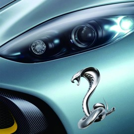 Vivid Fiercely Snake Popular Creative Car Sticker