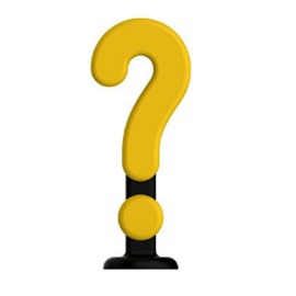 Symbol Question Exclamation Colorful Plastic Creative Car Decor