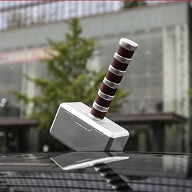 Three-Dimensional Hammer Shape Car Roof Decor