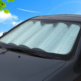 Laser Reflective Material Popular Sunshade Thicken Car Sun Shades