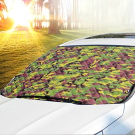 Camouflage Style And Most Popular Universal Car Sun Shades
