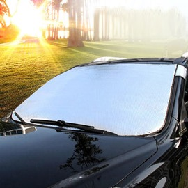 Super Large Size And Aluminum Foil Material Car Sun Shades
