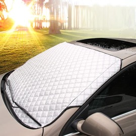 Aluminum Foil Material Practical And Easy To Use Car Sun Shades