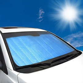 Double Layer Sun Block Car Sun Shades Car Sun Shield With Heat Insulation Shade Front Windshield Visor