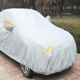 Protective Cover For Sun And Rain Non-Woven Fabrics Universal Fit Car Cover