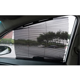 Flexible Mesh Window Shade Design Sun UV Light Protection For Car Windows