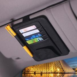 Utility Multipurpose Double Layer Organizer For Car Sun Shades