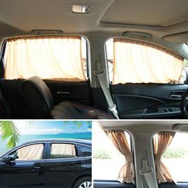 2 x 50L Universal Fit Car Side Window Sun Shade