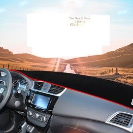 Sunscreen Dust-Proof Insulation Car Dashboard Mats Fit for Nissan