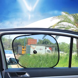 2 Pack Car Sun Shade for Side and Rear Window
